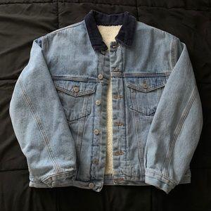 Brandy Melville Sherpa Denim Jacket